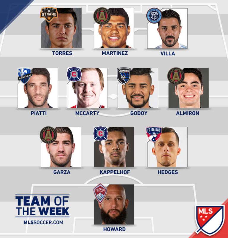 Erick Torres named to MLSsoccer.com's Team of the Week for Week 2 -