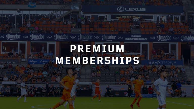Premium Memberships Button