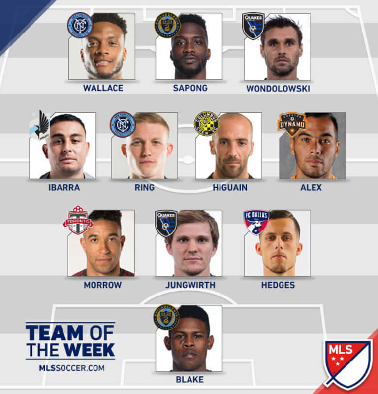Alex named to MLSsoccer.com Team of the Week -