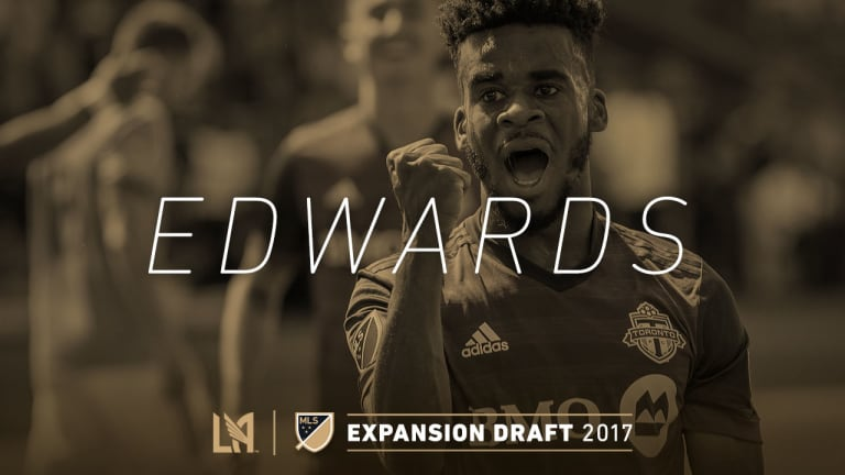 Raheem Edwards  Expansion Draft Selection IMG 2017