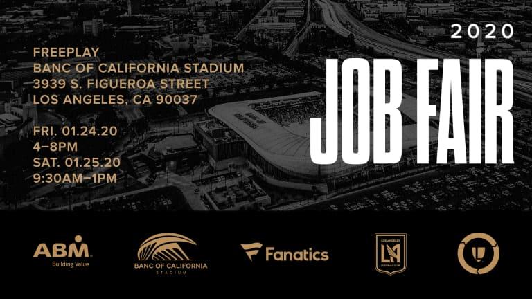 LAFC To Host Third Annual Job Fair For Banc Of California Stadium Employees -
