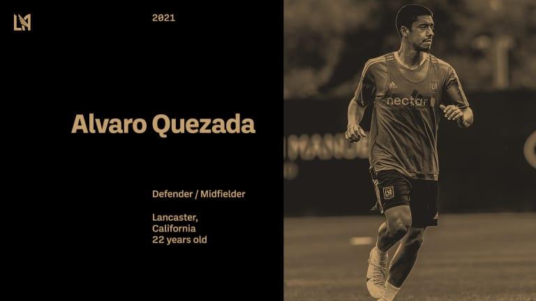 Alvaro Quezada Signing