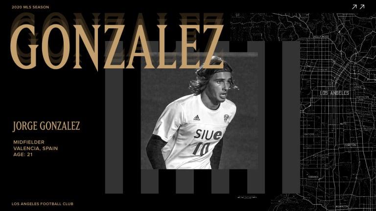 2020 MLS SuperDraft Central - Gonzalez