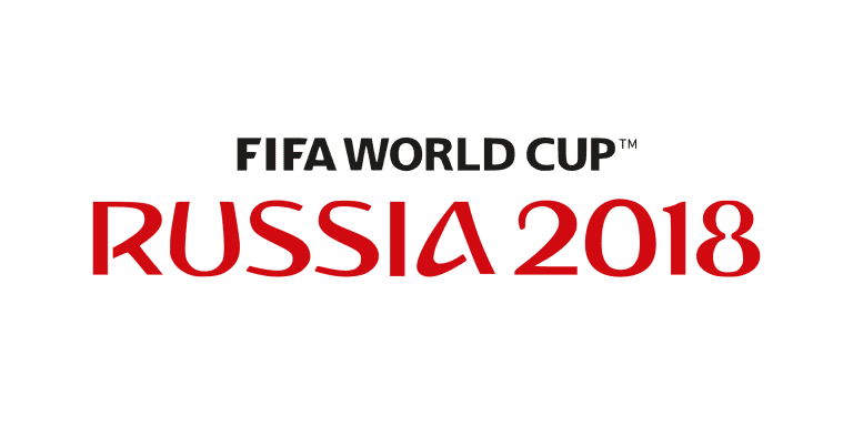 Russia World Cup Text Only Graphic 2018 IMG