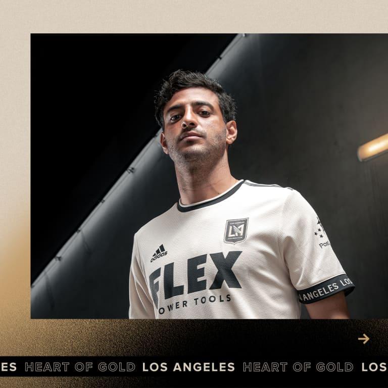LAFC Unveils New 2021 Heart Of Gold Community Kit - Vela