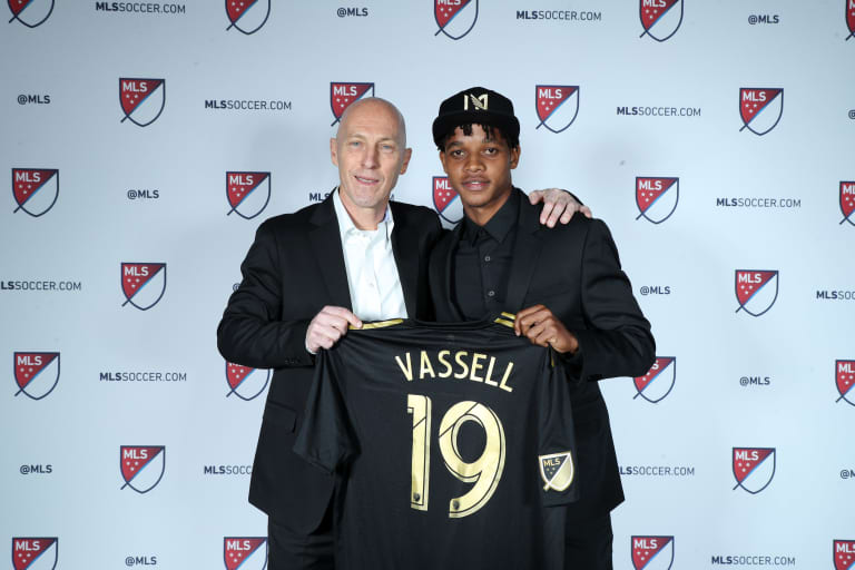 LAFC Selects Peter-Lee Vassell With No. 40 Overall Pick In 2019 MLS SuperDraft -