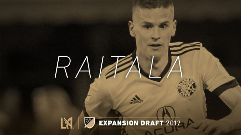 Jukka Raitala Expansion Draft Selection IMG 2017