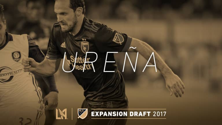 Marco Ureña Expansion Draft Selection IMG 2017