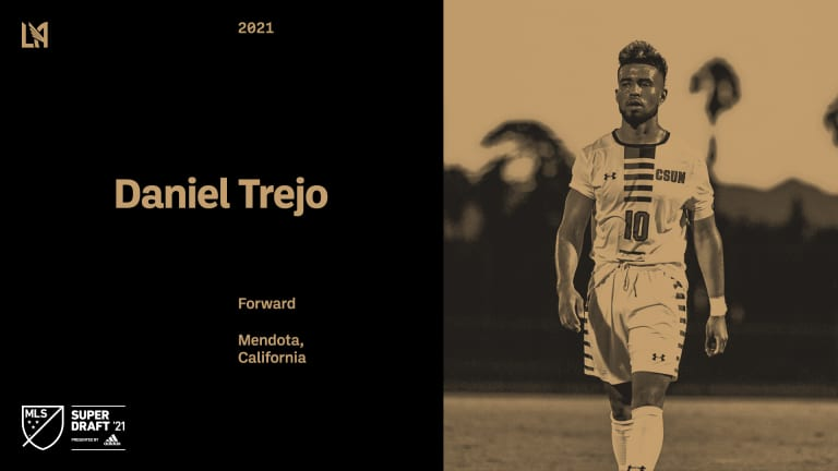 2021 MLS SuperDraft Pick 14 Daniel Trejo 210121 IMG