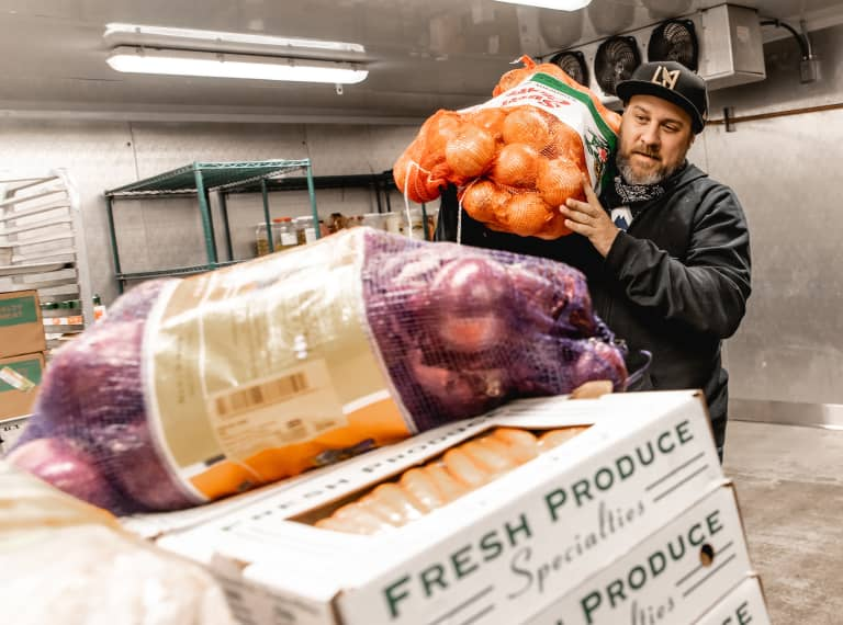 LAFC Teams With Partners To Donate Food To Local Charity -