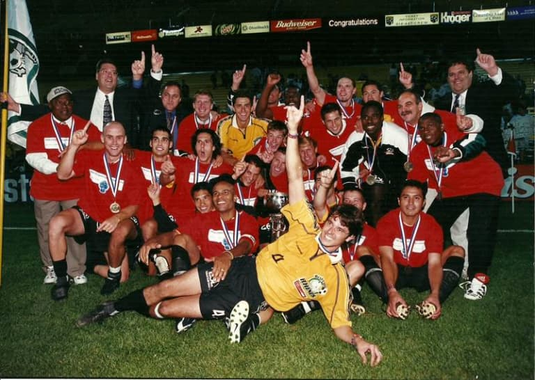 1999 Rochester RHinos Open Cup Championship photo
