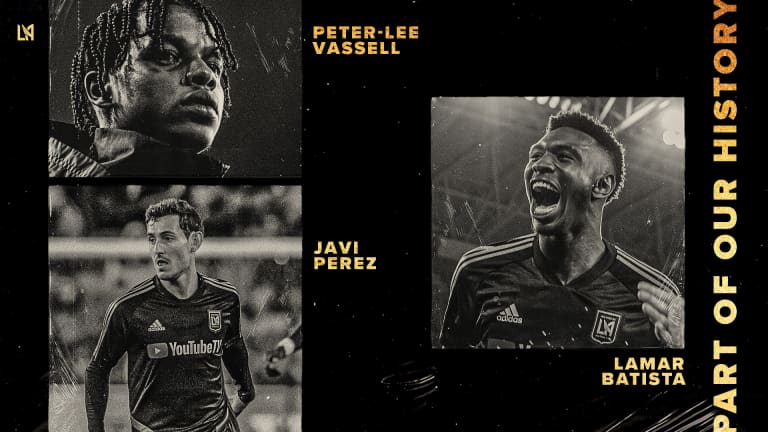 LAFC Announces Roster Moves Following Record-Breaking 2019 Season -