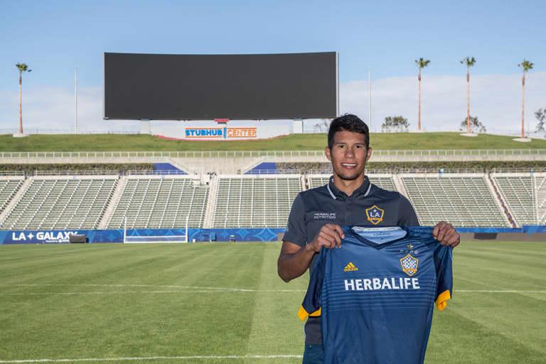 LA Galaxy II sign Colombian midfielder Bryam Rebellon -