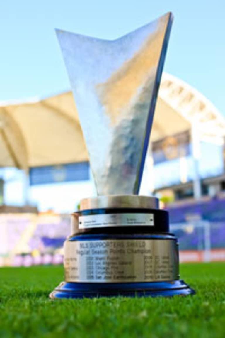 LA Galaxy Win 2011 Supporters' Shield -