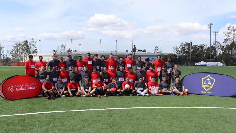 LA Galaxy Southern California Special Olympics Unified - https://losangeles-mp7static.mlsdigital.net/elfinderimages/Recap%20group.JPG