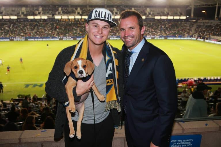 We need to talk about Joc Pederson's puppy -