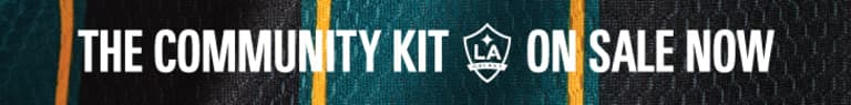 LA Galaxy unveil 2021 Community Kit -