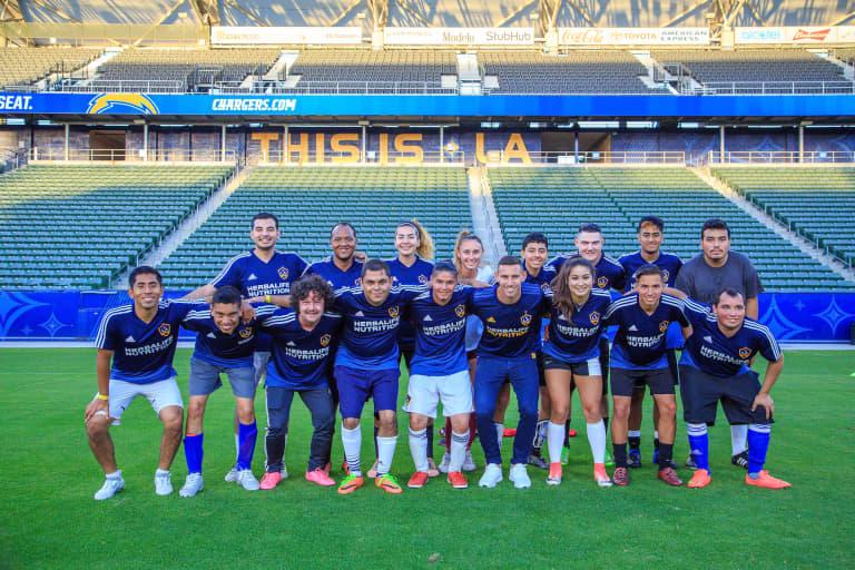 LA Galaxy Southern California Special Olympics Unified - https://losangeles-mp7static.mlsdigital.net/elfinderimages/050318_LA_GALAXY_SR_0074.JPG