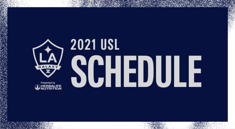 2021 USL Schedule