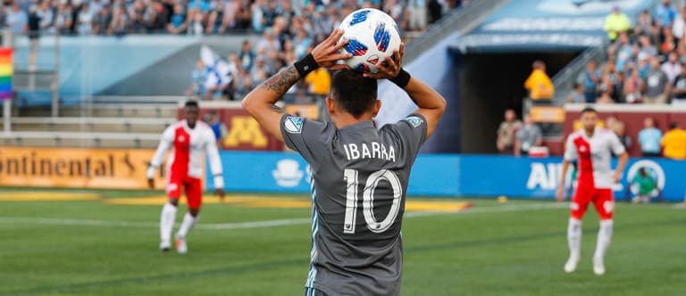 Notebook: Confident Miguel Ibarra Proving to be Invaluable for Minnesota -