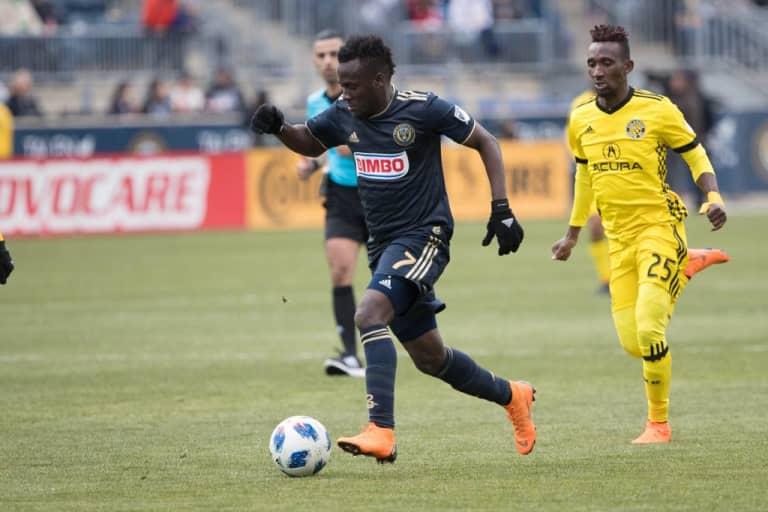Nashville SC to Acquire MLS Winger David Accam in Trade with Columbus Crew -