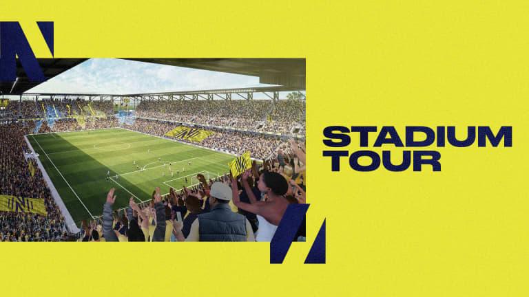 Website Graphics - STADIUM TOUR
