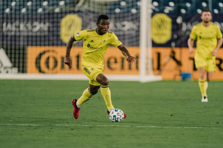 Climbing the Ranks: How Tah Brian Anunga gave Nashville SC midfield a boost in first MLS season -