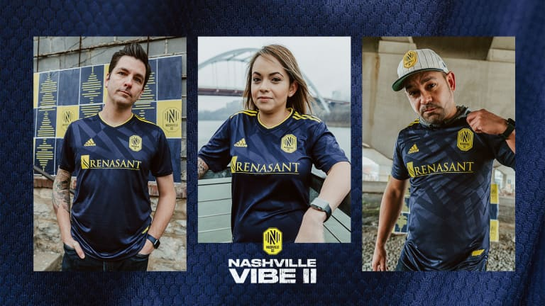 Nashville SC Unveils Vibe II, Its 2021/22 Major League Soccer Away Jersey -