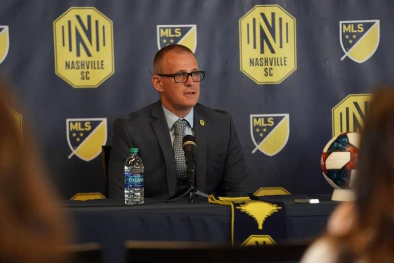Gary Smith Named MLS Head Coach for Nashville SC -