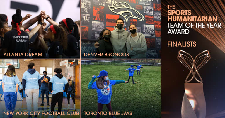 NYCFC Named Finalist for ESPN Sports Humanitarian Team of the Year Award for the Fourth Time in Club History -