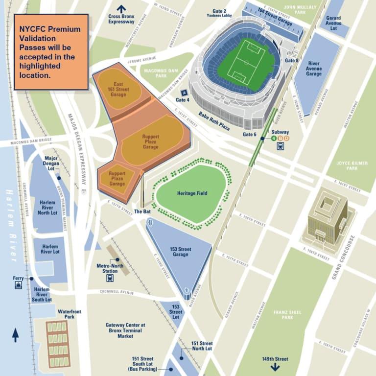 Yankee Stadium Parking & Directions -