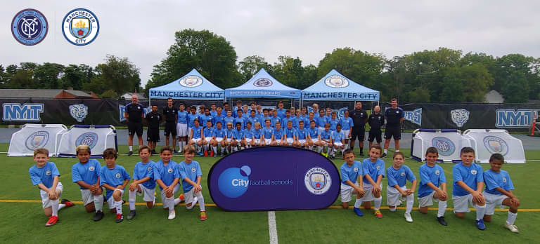 NYCFC x Manchester City Summer Camp -