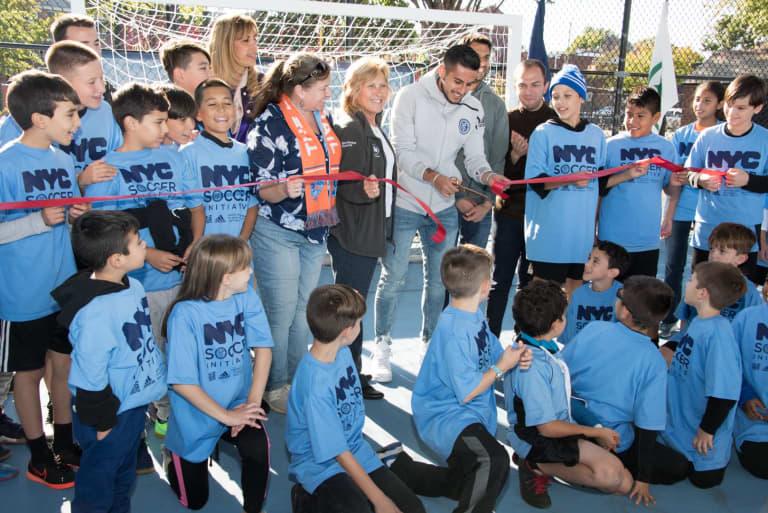 2017 Inauguration of NYC Soccer Initiative - https://newyorkcity-mp7static.mlsdigital.net/elfinderimages/Pictures/NYCSI/NYCSI-Queens-1.JPG