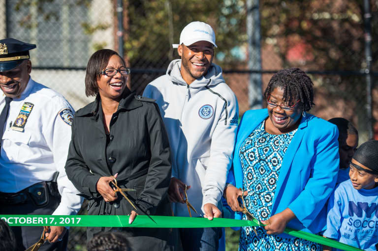 2017 Inauguration of NYC Soccer Initiative - https://newyorkcity-mp7static.mlsdigital.net/elfinderimages/Pictures/NYCSI/Ethan-PS335-1.jpg