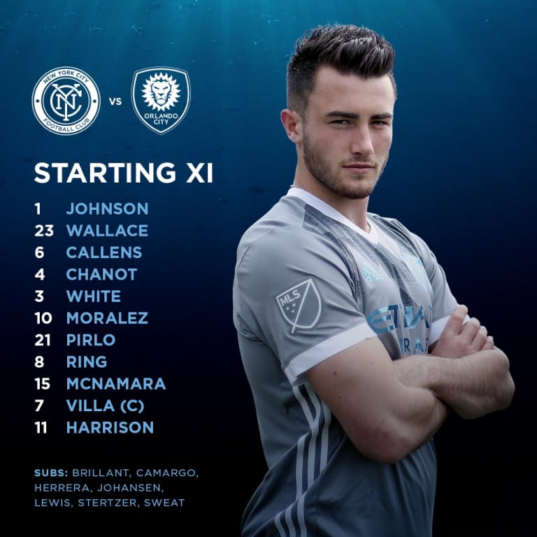 The XI: McNamara Starts Vs. Orlando City -