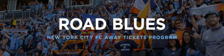 NYCFC Away Tickets -