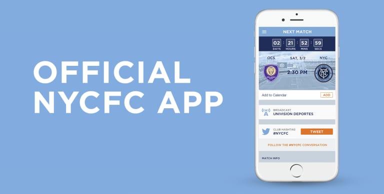 New York City FC App -