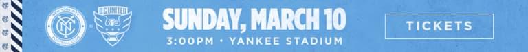 New York City FC Acquire Keaton Parks -