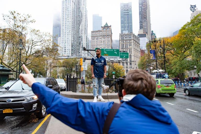 The Gotham Kit | 2020-21 New York City FC Away Kit -