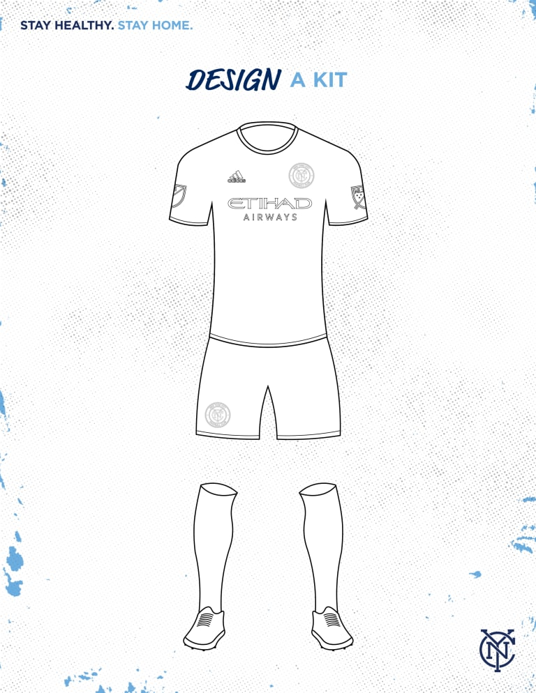 Staying Home with NYCFC | Design a Kit & Learn a New Language -