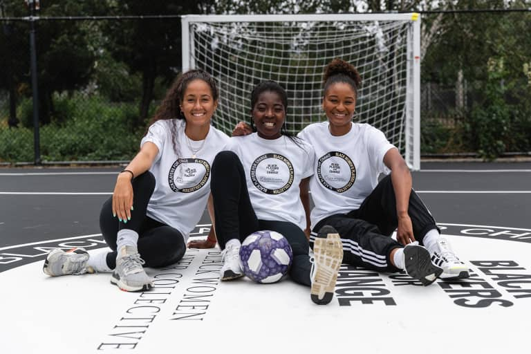 New Mini-Soccer Pitch Opens At Harlem's Colonel Charles Young Playground -