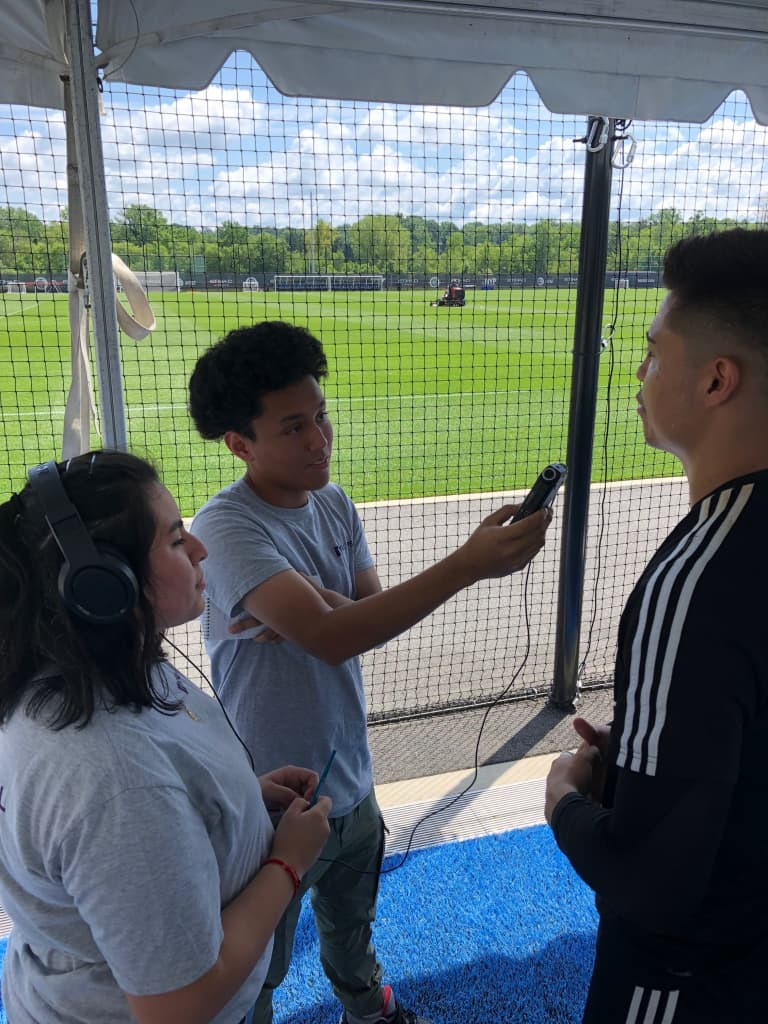New York City FC and the NYU School of Professional Studies Renew Soccer, Radio, and Social Entrepreneurship Course for NYC Youth -