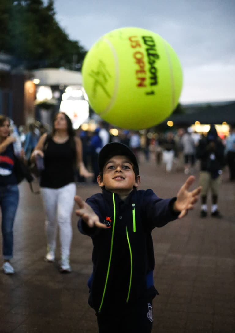Ethan White Shoots Photos At US Open -