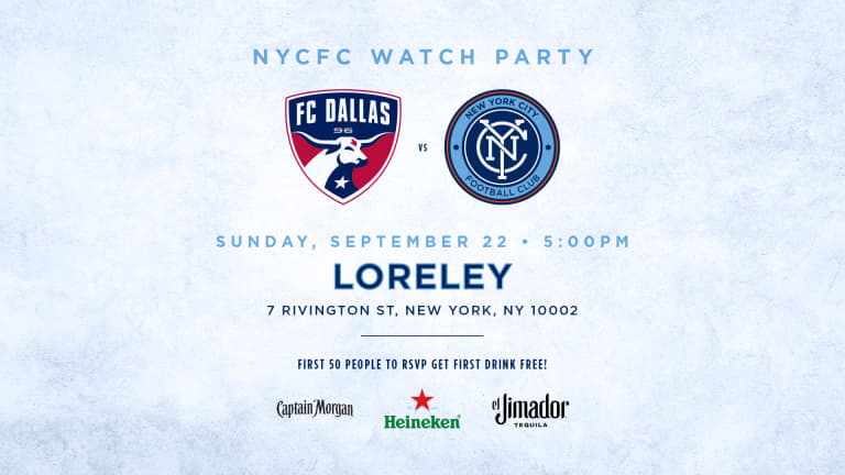 What TV Channel is NYCFC vs. FC Dallas? -