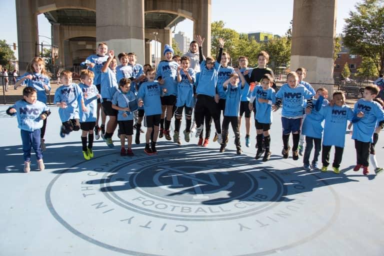 2017 Inauguration of NYC Soccer Initiative - https://newyorkcity-mp7static.mlsdigital.net/elfinderimages/Pictures/NYCSI/NYCSI-Queens-2.JPG