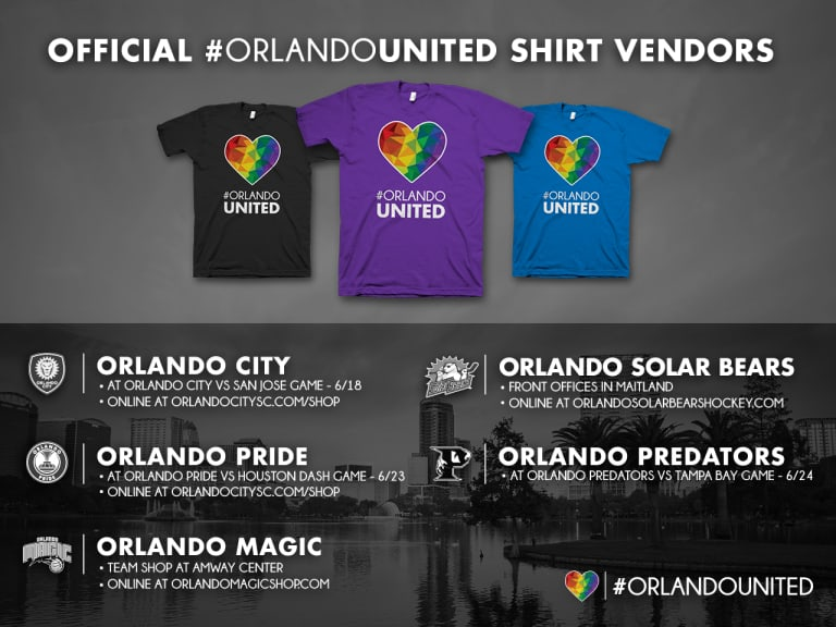 #OrlandoUnited T-Shirts -
