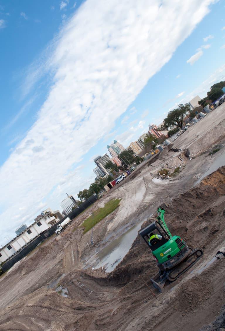 Stadium Update: Site Preparation Work Underway, Community Outreach Continues -