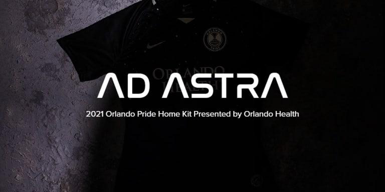 Orlando Pride Launches 2021 Ad Astra Kit Presented by Orlando Health - AD ASTRA