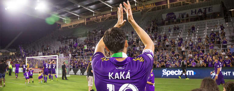 Kakà Shows Emotion, Thanks Supporters in Final MLS Match -