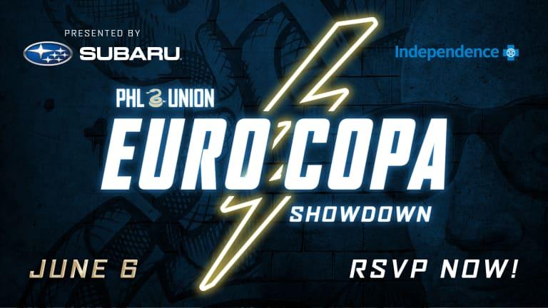 EuroCopa Showdown Graphic